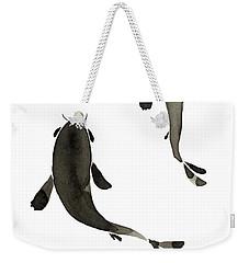 Sumi-e - Koi - One Weekender Tote Bag