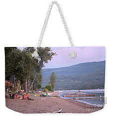 Weekender Tote Bag featuring the photograph Summer And Childhood by Victor K