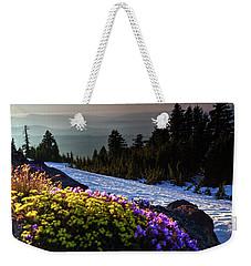 Summer And Winter Weekender Tote Bag