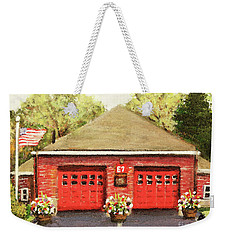 Summer At E7 Fire Station Weekender Tote Bag