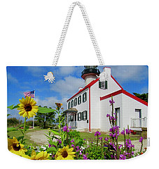 Summer At East Point Light Weekender Tote Bag