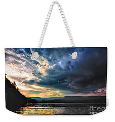 Summer At Lake James Weekender Tote Bag