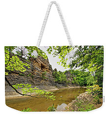 Weekender Tote Bag featuring the photograph Summer At The Pinnacles by Cricket Hackmann
