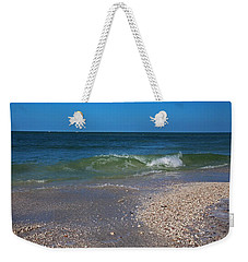Weekender Tote Bag featuring the photograph Summer At The Shore by Michiale Schneider