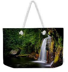 Summer At Wolf Creek Falls Weekender Tote Bag