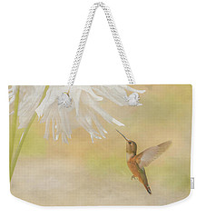 Summer Ballet Weekender Tote Bag by Angie Vogel
