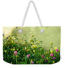 Weekender Tote Bag featuring the photograph Summer Begins by Betty-Anne McDonald
