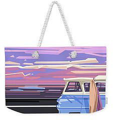 Summer Weekender Tote Bag by Bekim Art