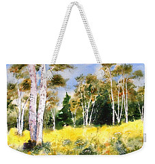 Summer Birches Weekender Tote Bag