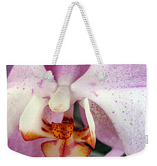 Weekender Tote Bag featuring the photograph Summer Bloom by Joan  Minchak
