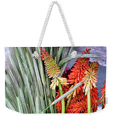 Summer Blooms Weekender Tote Bag
