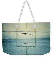Summer Blue Weekender Tote Bag