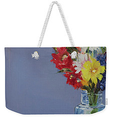 Summer Bouquet Weekender Tote Bag by Jane Autry
