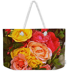 Summer Bouquet Weekender Tote Bag by Marija Djedovic