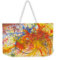Summer Branches Alfame With Flower Acrylic/water Weekender Tote Bag