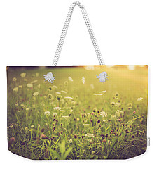 Weekender Tote Bag featuring the photograph Summer Breeze by Shane Holsclaw