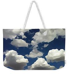 Summer Clouds In A Blue Sky Weekender Tote Bag