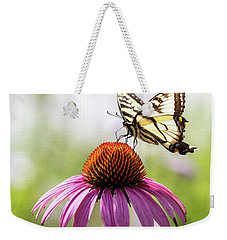 Weekender Tote Bag featuring the photograph Summer Colors by Everet Regal