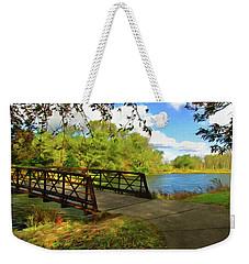Summer Crossing Weekender Tote Bag
