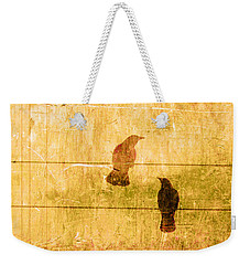 Summer Crows Weekender Tote Bag by Carol Leigh