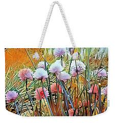 Summer Day Flowers Weekender Tote Bag