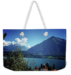 Weekender Tote Bag featuring the photograph Summer Day by Mimulux patricia no No