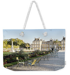Summer Day Out At The Luxembourg Garden Weekender Tote Bag