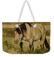 Weekender Tote Bag featuring the painting Summer Days by Billie Colson