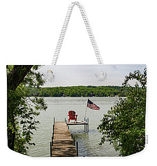 Summer Days On Lake Como Weekender Tote Bag