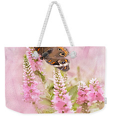 Weekender Tote Bag featuring the photograph Summer Daze by Betty LaRue