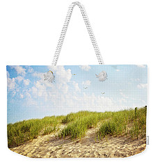 Weekender Tote Bag featuring the photograph Summer Dunes by Melanie Alexandra Price