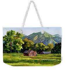 Summer Evening Weekender Tote Bag