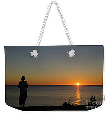 Weekender Tote Bag featuring the photograph Summer Evening By The Coast by Kennerth and Birgitta Kullman