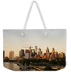 Summer Evening In Philadelphia Weekender Tote Bag