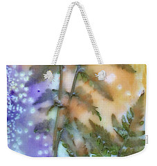 Summer Ferns Weekender Tote Bag