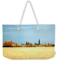 Summer Field Weekender Tote Bag