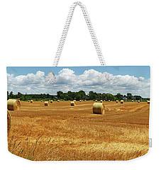 Summer Fields With Clouds Weekender Tote Bag