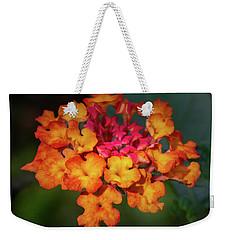 Summer Floral Colors Weekender Tote Bag