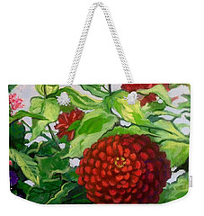 Summer Flowers 3 Weekender Tote Bag