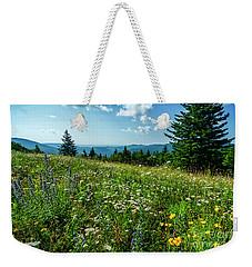 Summer Flowers In The Highlands Weekender Tote Bag