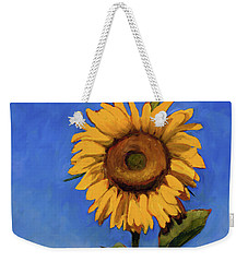 Weekender Tote Bag featuring the painting Summer Fun by Billie Colson