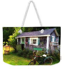 Summer Garden Shed Weekender Tote Bag