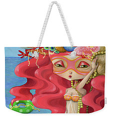 Summer Girl Weekender Tote Bag