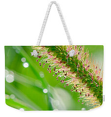 Summer Grass Weekender Tote Bag