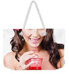 Summer Holidays Weekender Tote Bag