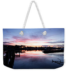 Weekender Tote Bag featuring the photograph Summer House by Laura Fasulo