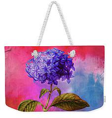 Summer Hydrangea Weekender Tote Bag
