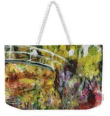 Summer In Monet's Garden Weekender Tote Bag by Dragica Micki Fortuna