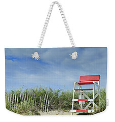 Summer In Red White And Blue Weekender Tote Bag by Marianne Campolongo