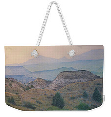 Summer In The Badlands Weekender Tote Bag